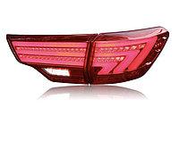 Задние фонари на Toyota Highlander 2014-20 стиль Lexus вариант 1 Red color, фото 1
