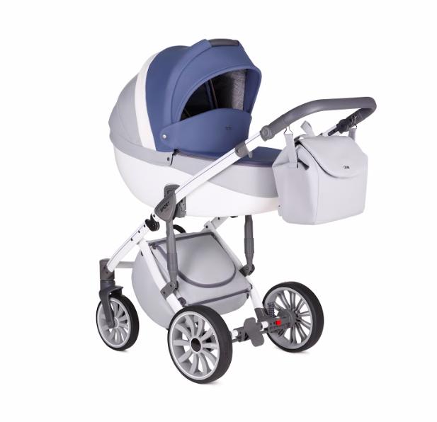 Детская коляска 3 в 1 Anex Sport 2018 Q1(SP22) Nebulas Blue