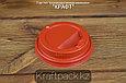 Крышка пластиковая с клапаном, красная D80 DoEco (100/1000), фото 2