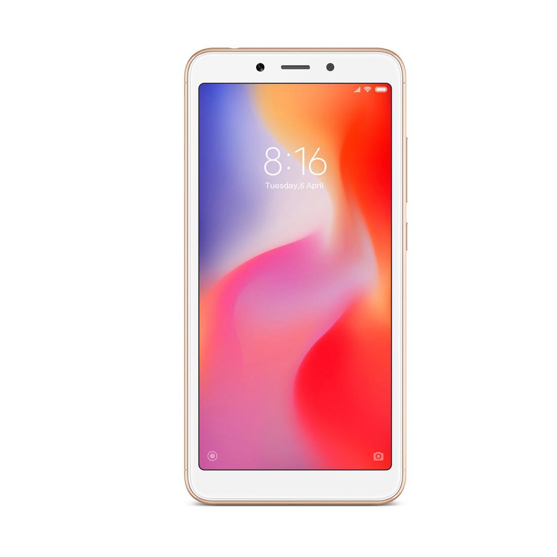 Мобильный телефон Xiaomi Redmi 6A 16GB Золотой