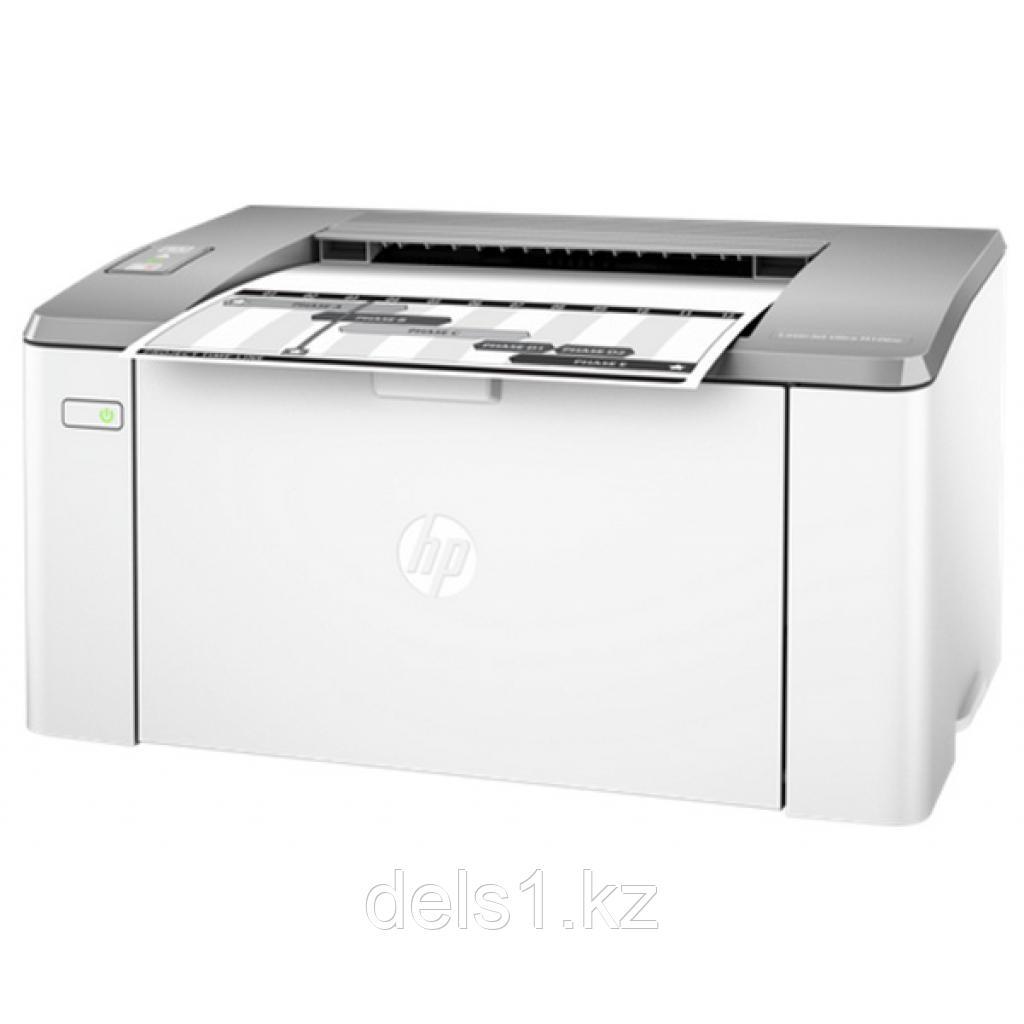 Лазерный принтер для черно - белой печати HP LaserJet  Ultra M106w