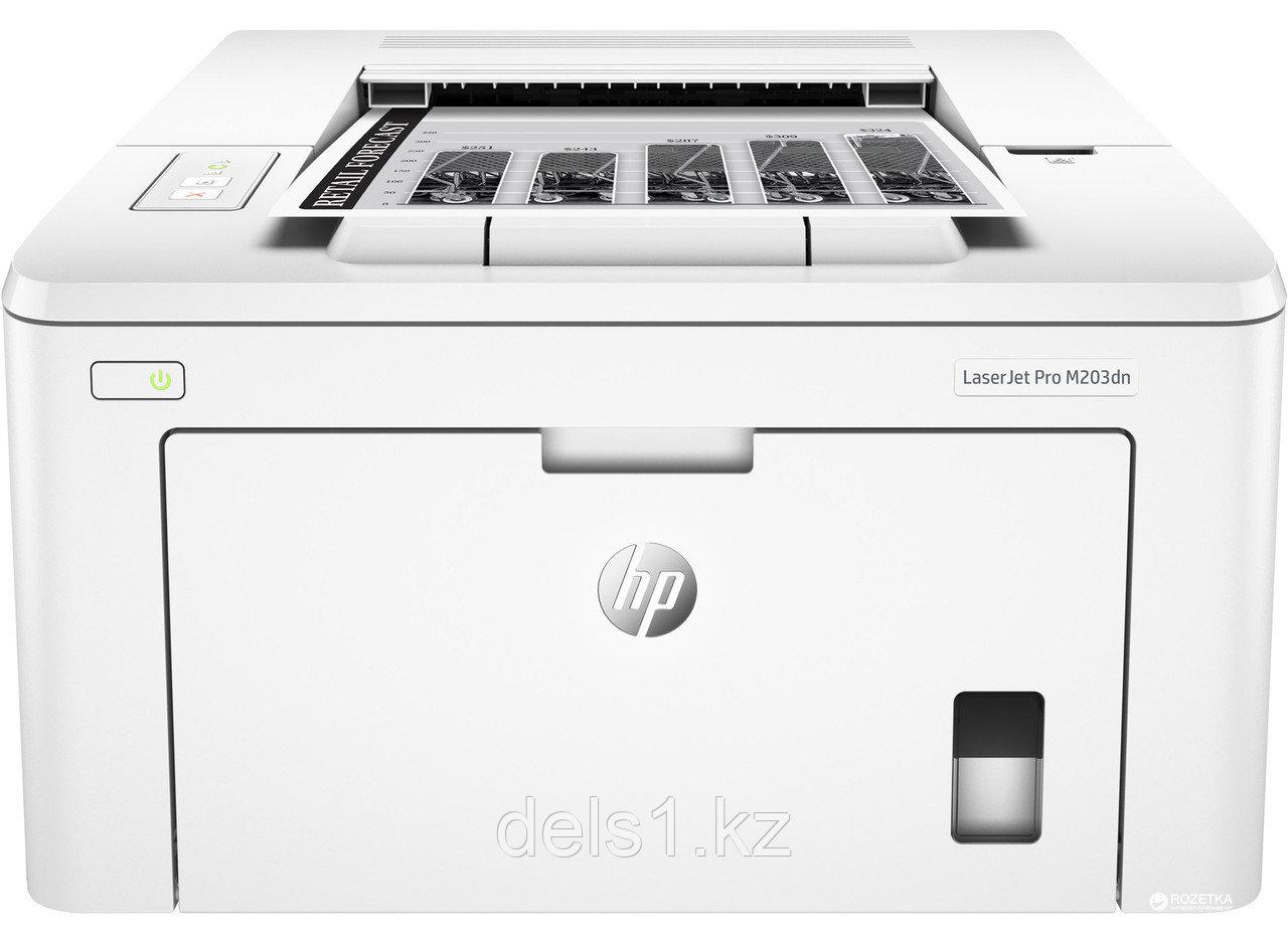 Лазерный принтер для черно - белой печати HP LaserJet  Pro M203dn