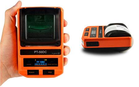 Мобильный термопринтер этикеток/бирок/наклеек (поддержка USB.Bluetooth, iOS,Android), фото 2