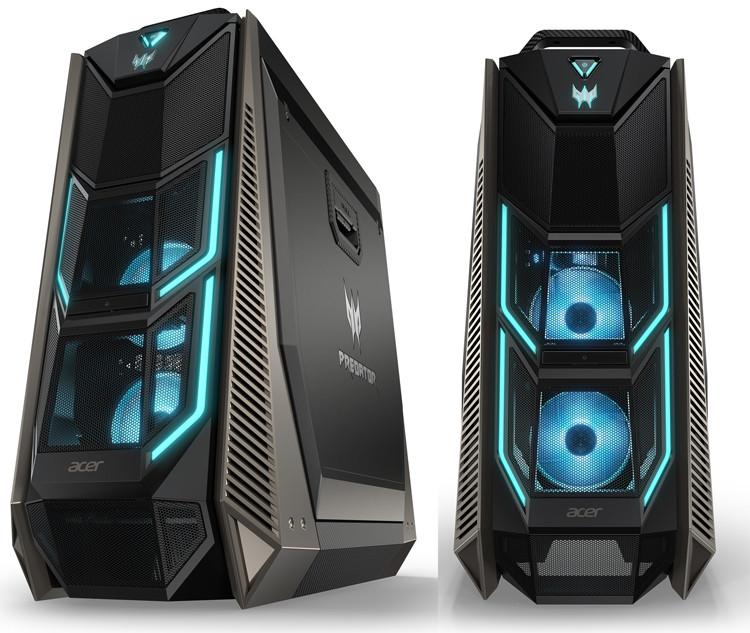 Системный блок Acer predator Core i9 7900X/64Gb/ 512Gb SSD+3TB/2x nVidia GeForce RTX2080Ti 11Gb/Win10