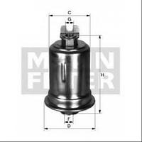 Топливный фильтр WK  mann  614/30