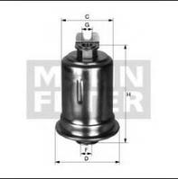 Топливный фильтр WK  mann  614/24 x