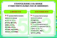 Русский язык 5 класс. Имя существительное