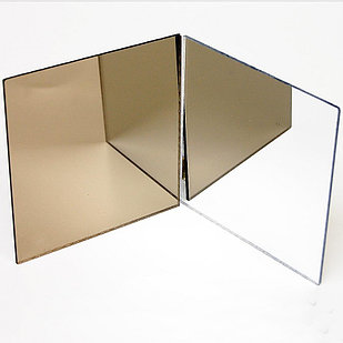 Оргстекло серебро зеркальный  2мм (1,22м х 1,83м)