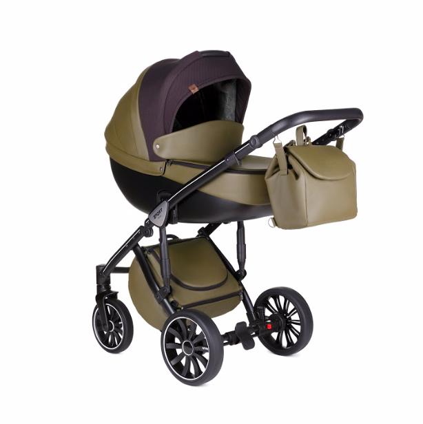 Детская коляска 2 в 1 Anex Sport Discovery Q1(SE03) Dark Forest