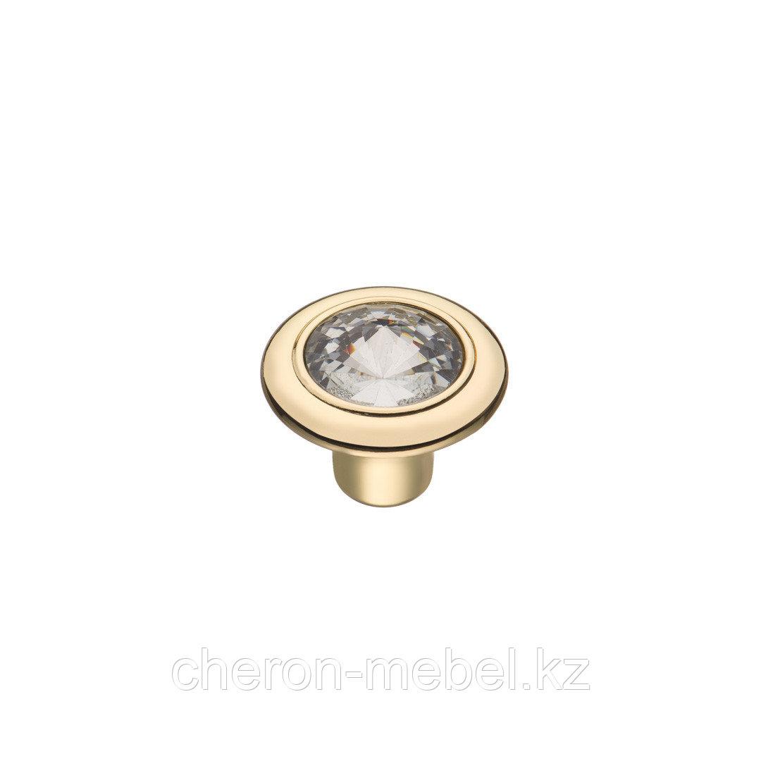 Ручка-кнопка с кристаллом KERRON