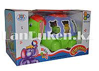 Развивающая музыкальная игрушка Слоник с шариками 3338-A