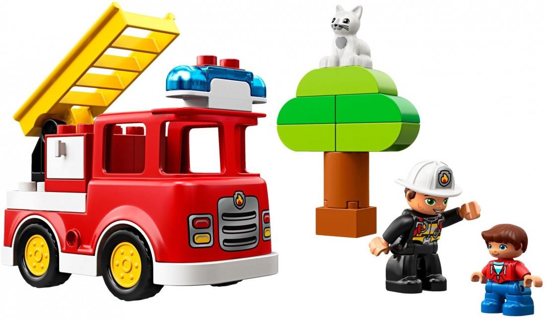 10901 Lego Duplo Пожарная машина, Лего Дупло - фото 3