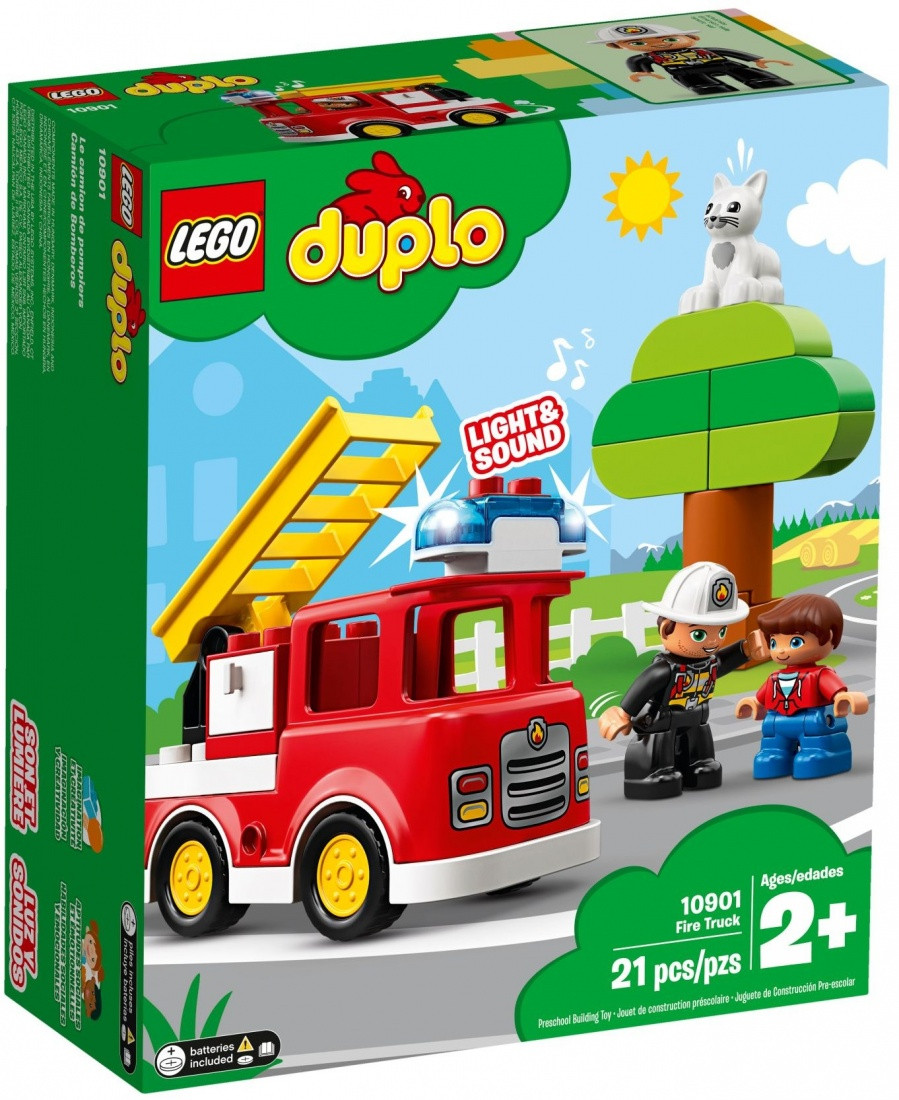 10901 Lego Duplo Пожарная машина, Лего Дупло