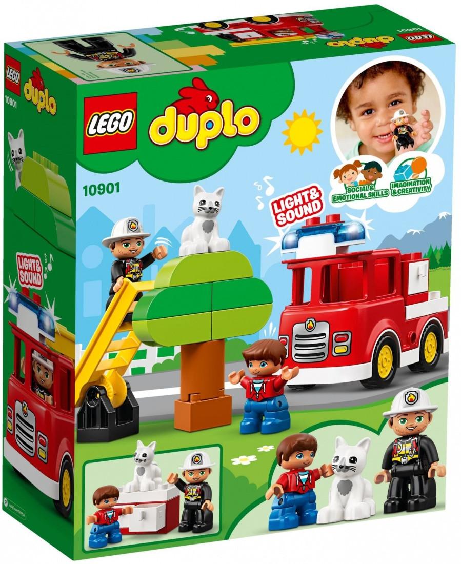 10901 Lego Duplo Пожарная машина, Лего Дупло - фото 2