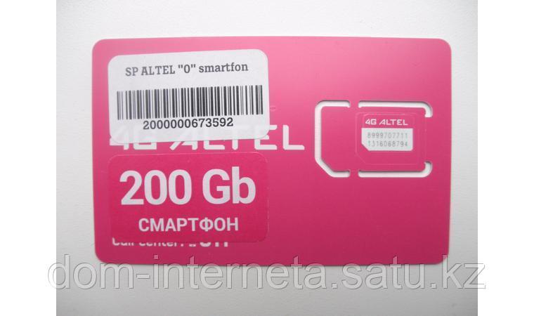 Sim карта Altel 4G 200 Gb - фото 2