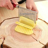 Нож для нарезки картофеля-фри с пластиковой рукояткой