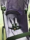 Легкая коляска BabyYoya. Усиленная рама. С чехлом. Лучше чем babytime, фото 5