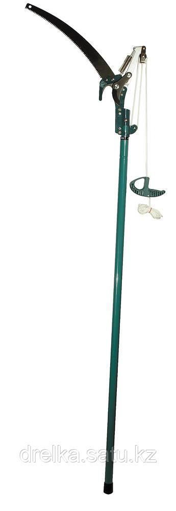 Высоторез сучкорез садовый ручной RACO 4218-53/371, с пилой 350 мм и телескопической ручкой 1,5-2,4 м