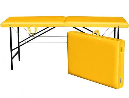 КУШЕТКА складная косметологическая. 180/60 жёлтый, фото 2