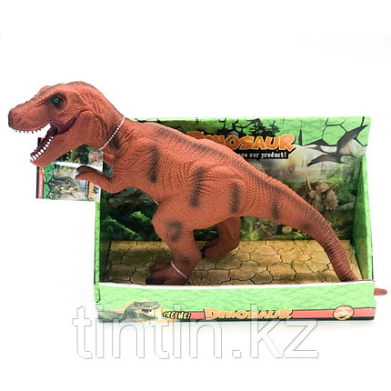 Резиновый рычащий динозавр, фото 2