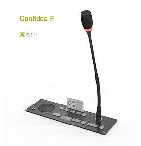 Televic Confidea F проводной врезной микрофонный пульт