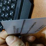 Визитки на пластике матовые визитки Алматы, фото 3