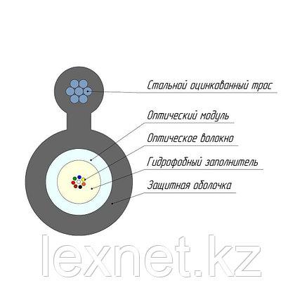 Кабель оптоволоконный ОКТ-24(G.652.D)-Т/СТ 9кН, фото 2