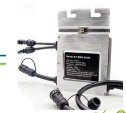 MPPT отслеживание функция водонепроницаемые 200 Вт 220 В солнечные панели на Grid System Micro Инвертор 22-45 , фото 2