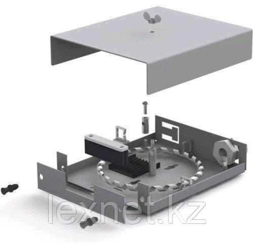Оптический бокс ОК-ОРБ-8-4SC  SC или LC  4 PORT  укомплектованный