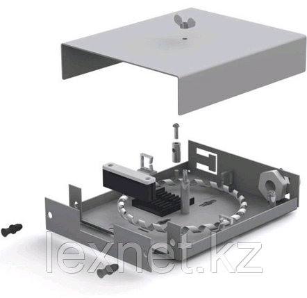 Оптический бокс ОК-ОРБ-8-8SC SC или LC  8 PORT   укомплектованный, фото 2