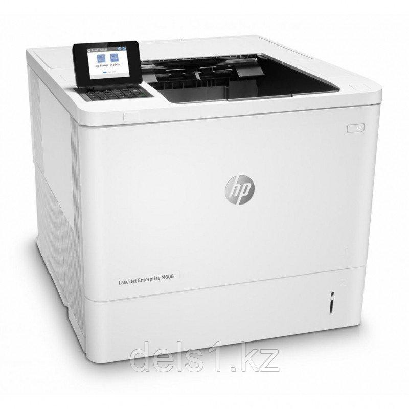 Лазерный принтер для черно - белой печати HP LaserJet  Enterprise M608dn