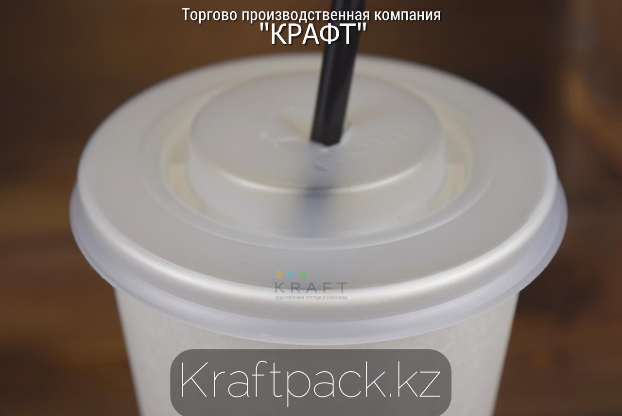 Крышка для холодных напитков D90, с крестовым отверстием (100/2000)