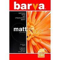 Бумага BARVA Матовая 140g А4 100л (IP-A140-021)