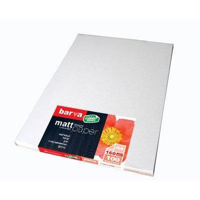 Бумага BARVA A4 Economy Series Матовая 160g A4 100л (IP-AE160-127)