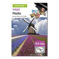 Бумага COLORWAY Глянцевый стикер (GSR) 160g А4 100л (CYL-8002) 210*148,5mm