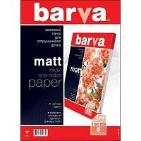 Бумага BARVA Матовая (IP-A180-T01) 180g А4 5л