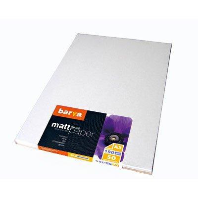 Бумага BARVA Матовая Двусторонняя (IP-B190-124) 190g A3 50л