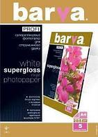 Бумага BARVA PROFI Белый Суперглянец (IP-R285-T01) 285g А4 5л