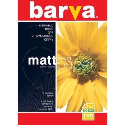 Бумага BARVA Матовая 90g А3 100л (IP-A090-004)