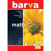 Бумага BARVA Матовая 90g А4 100л (IP-A090-001)