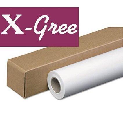 """Бумага рулонная 24"""" X-Gree Self-Adhesive самоклеящаяся глянцевая (610мм*30м*50мм) 120 г/м2"""