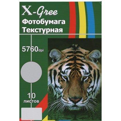 Голографическая фотобумага для струйной печати X-GREE PA260T-A4-10 COLOR LIGHT BEAM LINES