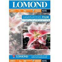 Бумага Lomond A4 L1301144 200 mk мат. для ламинир. 50л.
