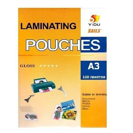 Пленка для ламинирования глянцевая YIDU A3/100/125mk  (5)