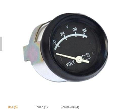 Вольтметр датчика напряжения дизельного генератора 3015235