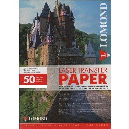 ТЕРМОТР-Р лазерный для светлых тк.  (A4/50)  LOMOND  807420