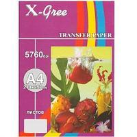 Термотрансферная бумага для тёмных тканей  (A4/ 5)  X-GREE  DTS235-A4-5 (для водораст. черн.)