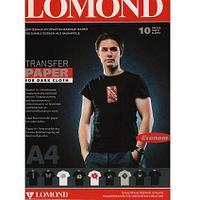 Термотрансферная бумага для темных тканей/A4/10листов/ (0808451) LOMOND