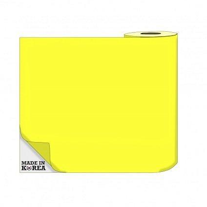 Термотрансферная пленка OS Flex (Флекс)  50см./50м./190mk  НЕОН Желтый цена за 1 метр