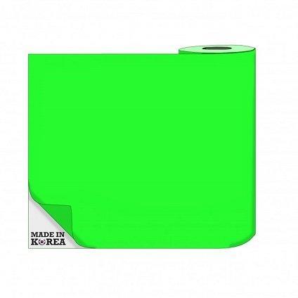 Термотрансферная пленка OS Flex (Флекс)  50см./50м./190mk  НЕОН Зеленый цена за 1 метр